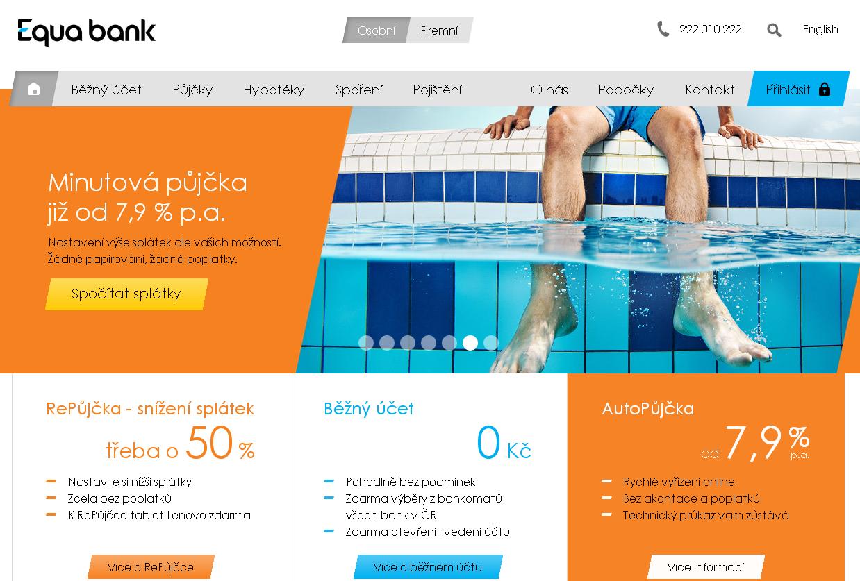 Equa bank - moderní banka bez poplatků a pro každého
