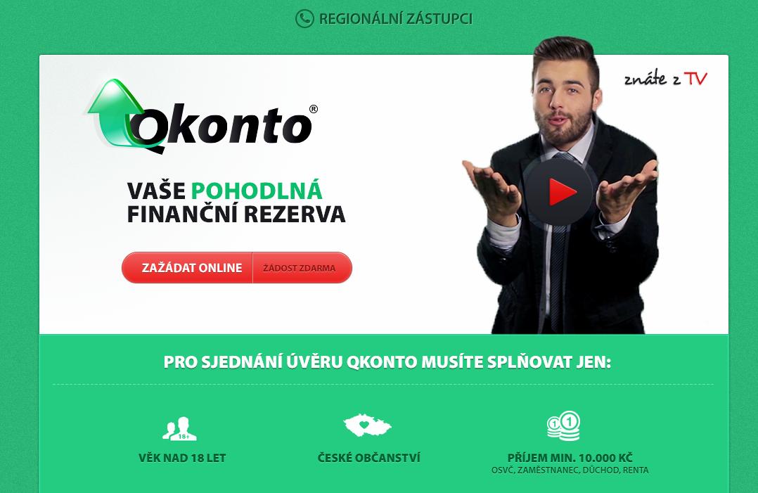 Úvěrový kontokorent - QKonto.cz
